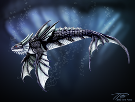 Orcinus Draco by DragonosX