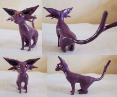 Espeon sculpture by Turtle-Duck