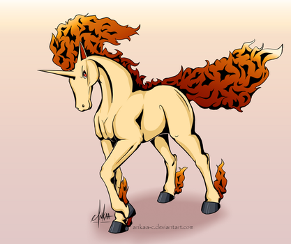 Day 6 - Rapidash by Ankaa-C