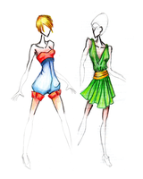 Fashion Design Phase 1 by Judapi