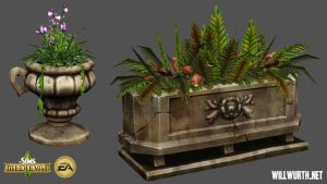 The Sims Medieval - Props 3 by DeadXIII