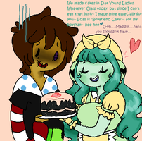 Boyfran Cake by Ask-MusicPrincess3rd