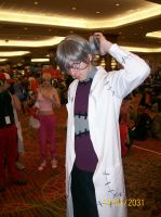 Dr. Stein Cosplayer by Scoric