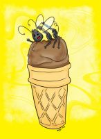 Commission: Summer Bees by bugbyte