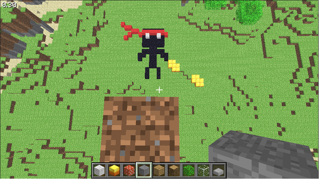 Endo-K's Chuck in MineCraft by RRR-X