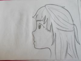 Girl from the side by Zuka-Chan