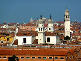 Red Roofs by AtomicBrownie