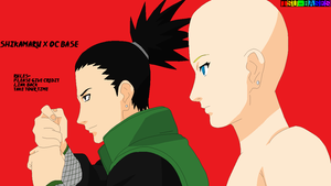Shikamaru x OC Base by Tsu-Bases