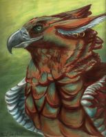 Gryphon Portrait by Moonafleet