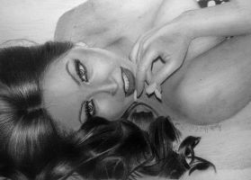 Drawing by me ~ Tracy DiMarco from Jerseylicious by Californiaswag