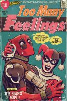 harley quinn n' deadpool - too many feelings by m7781
