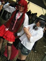Grell and Ciel by cursed-prince