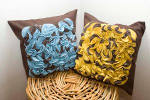 blue yellow pillow by basia-hs