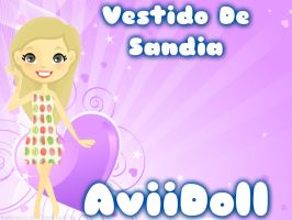 Vestido De Sandia !! by avril1222