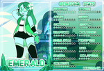 Emerald's Stat Sheet by Faith-Wolff