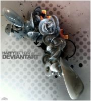 Deviantart Birthday by VisualOverdose