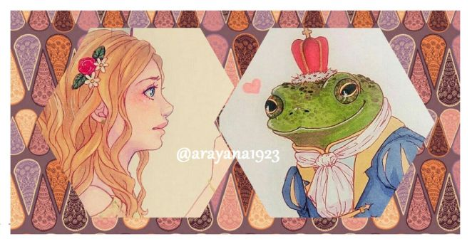The princess and the toad ._. by Arayana1923
