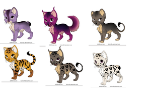 KITTENS ADOPTABLES by naty15