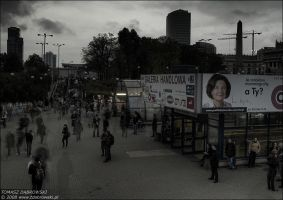 People, ghosts, mammography by Dhante