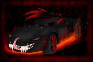 YCH-Car Monster-Final-Asmo by xFalkenx
