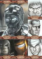 IronMan 2 sketch cards Pt5 by jenchuan