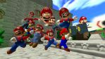 So many Marios.... by LuigiBroZ