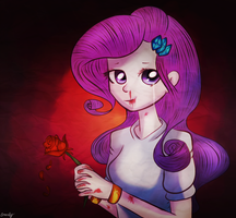 the perfect rose for the perfect girl by crocelif