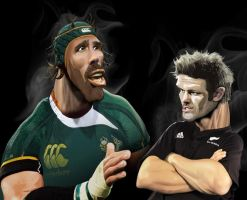 RICHIE vs MATFIELD by space-for-thought