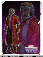 MARVEL Future Fight - StarLord (GOTG) by DatKofGuy