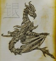 Request - Alduin by Silverthe-Dragon