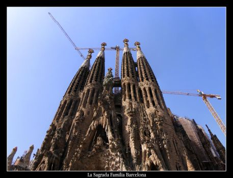 La Sagrada Familia Barcelona 1 by mattsteele17