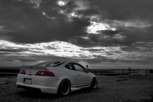 Flat White Acura RSX by ChapmanChan