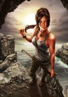 TOMB RAIDER REBORN by RUIZBURGOS