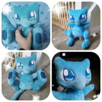 Shiny Mew Plush by TiffyyyCuppyCake