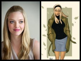 Marvel Casting - Gwen Stacy by Doc0316