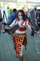 Niagara Falls Comicon 2015 - Godess of War by TheWarRises