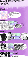 how i draw my Pixel art by Mariatiger