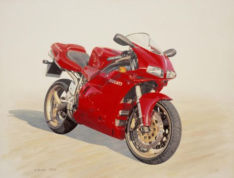 Greg's Ducati by NewAgeTraveller