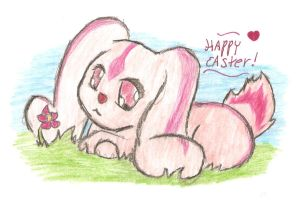 happy easter by supersaiyanpopo