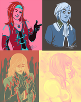 Tales of Palette Challenge by MelodicMadness