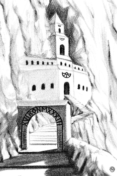 Borontempel by songgryphon