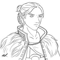Anders lineart by sharem