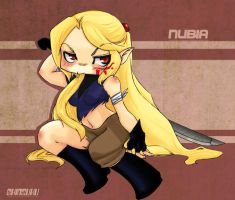 Old OC : Nubia by Shiny-chan