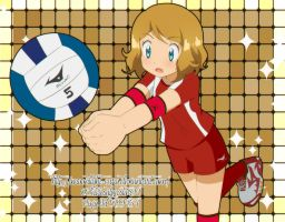 CM: Serena Volleyball by MoonLight-Caro