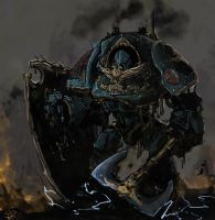 Contemptor Dreadnought by Halycon450