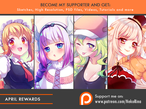 Patreon April Rewards preview by Neko-Rina