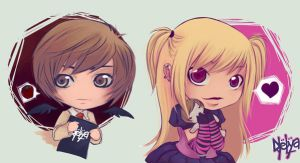death note buttoms by naelya