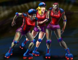 RollerDerby Death by chrismoet