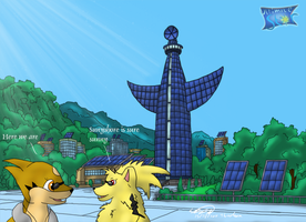 Arrived at Sinnoh -entry 04-01 by Threehorn