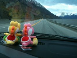 Yoshi: On the Road Again by Belanna42